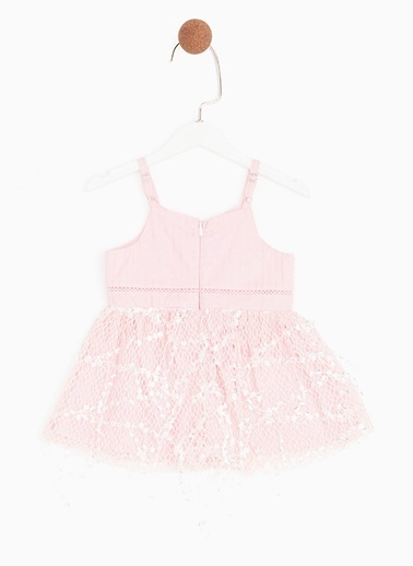 BG Baby BG Baby Pembe Kız Bebek Elbise Pembe